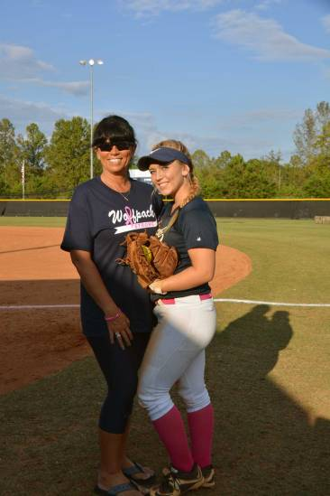Nikki Smith and her mother, Penny.