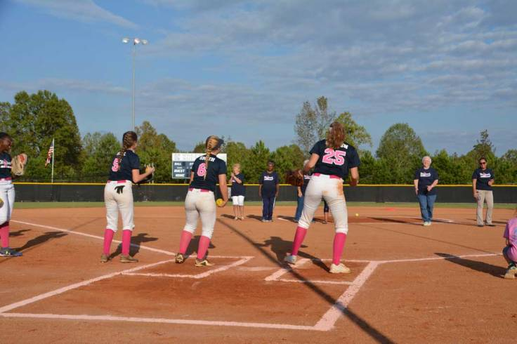 NPHS-Catching-first-pitch