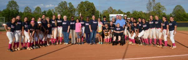 NPHS-Softball-Cancer-awareness