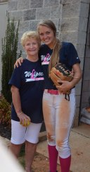 Emma Wilson and her Grandmother