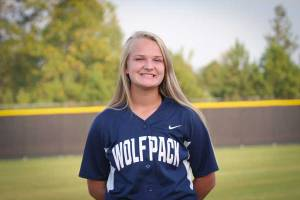 NPHS JV Softball Sara Carver