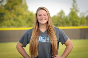 NPHS Softball Meagan Coltrane
