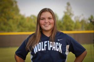 NPHS JV Softball Haylee Folds