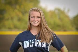 NPHS JV Softball Anna Garren