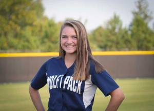 NPHS JV Softball Hayley Hambee