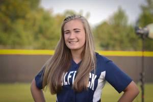 NPHS JV Softball Olivia Hicks