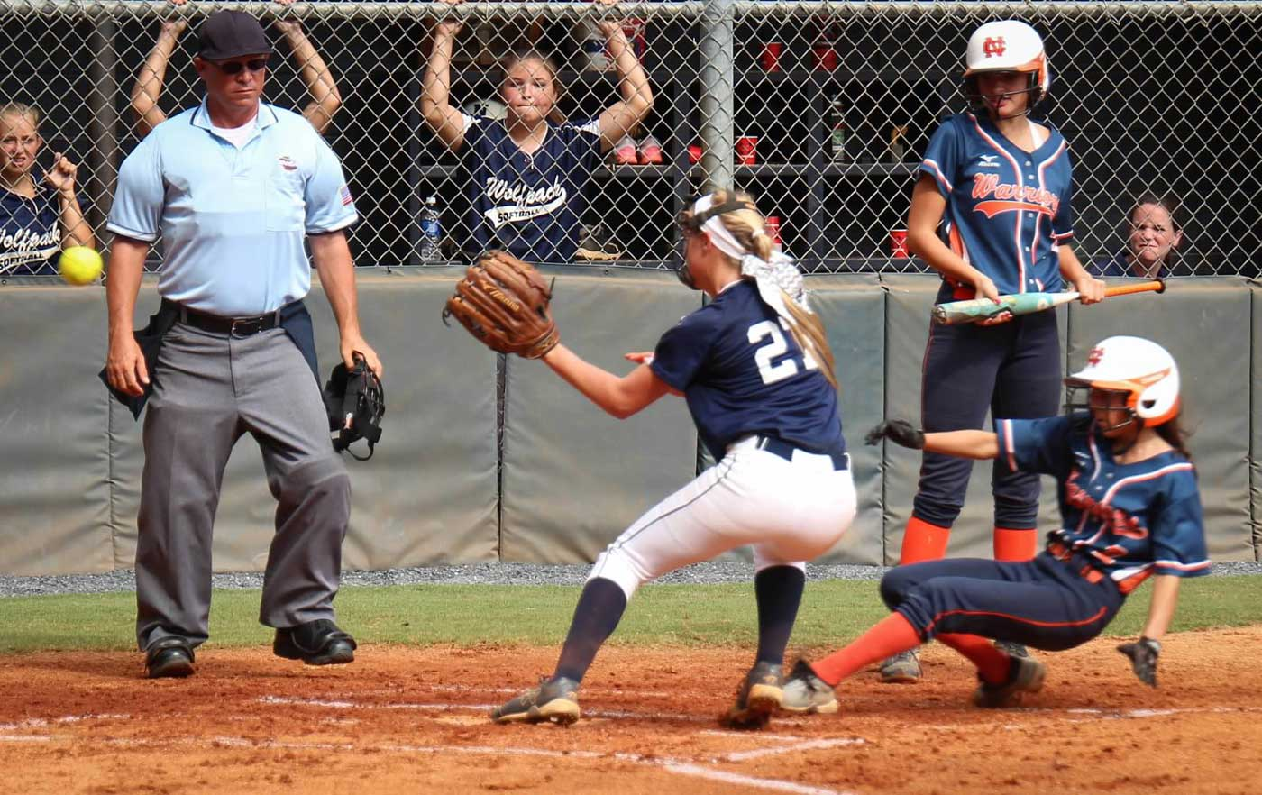 North Paulding JV softball vs North Cobb