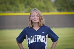 NPHS JV Softball Anna Lindsey