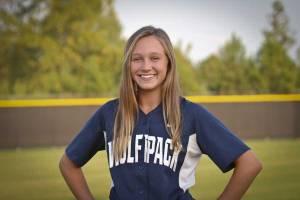 NPHS Varsity Softball Hannah Lindsey