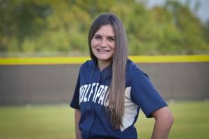 NPHS JV Softball Emma Mobley