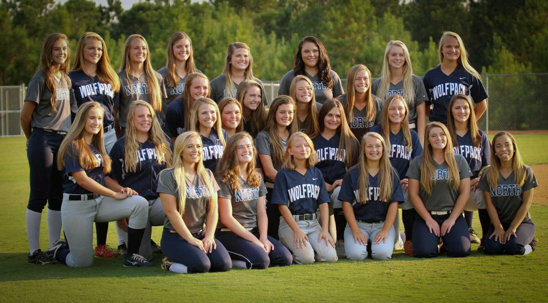 NPHS Varsity and JV Softball Teams