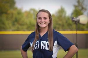 NPHS JV Softball Harley Richardson