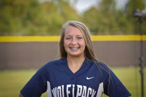 NPHS JV Softball Courtney Schneider