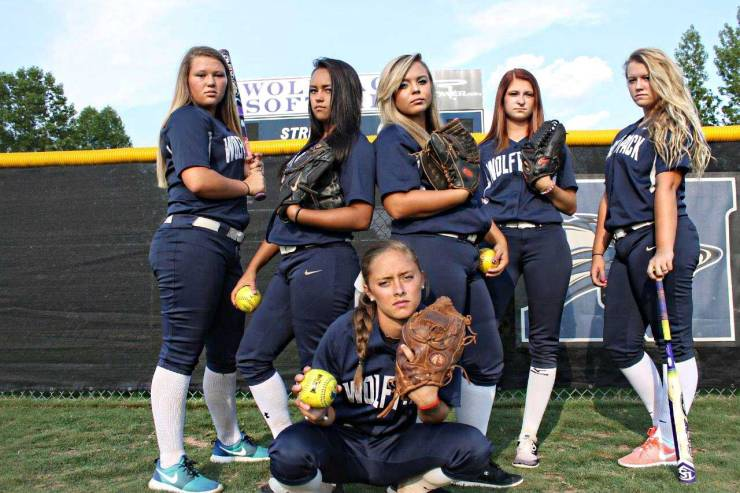 Tuesday, August 11, 2015 marks the first game of the season for these seniors on the North Paulding High School softball team
