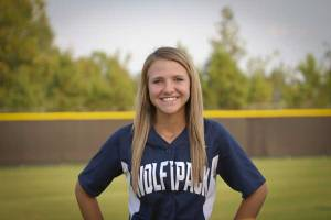 NPHS JV Softball Baliegh Tibbets
