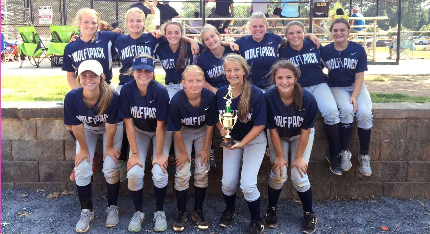 North Paulding High School JV Softball Team at KHMS Tournament