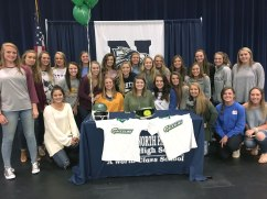 Shay Sullins signs with Georgia Gwinnett College for the 2017 Softball Season.