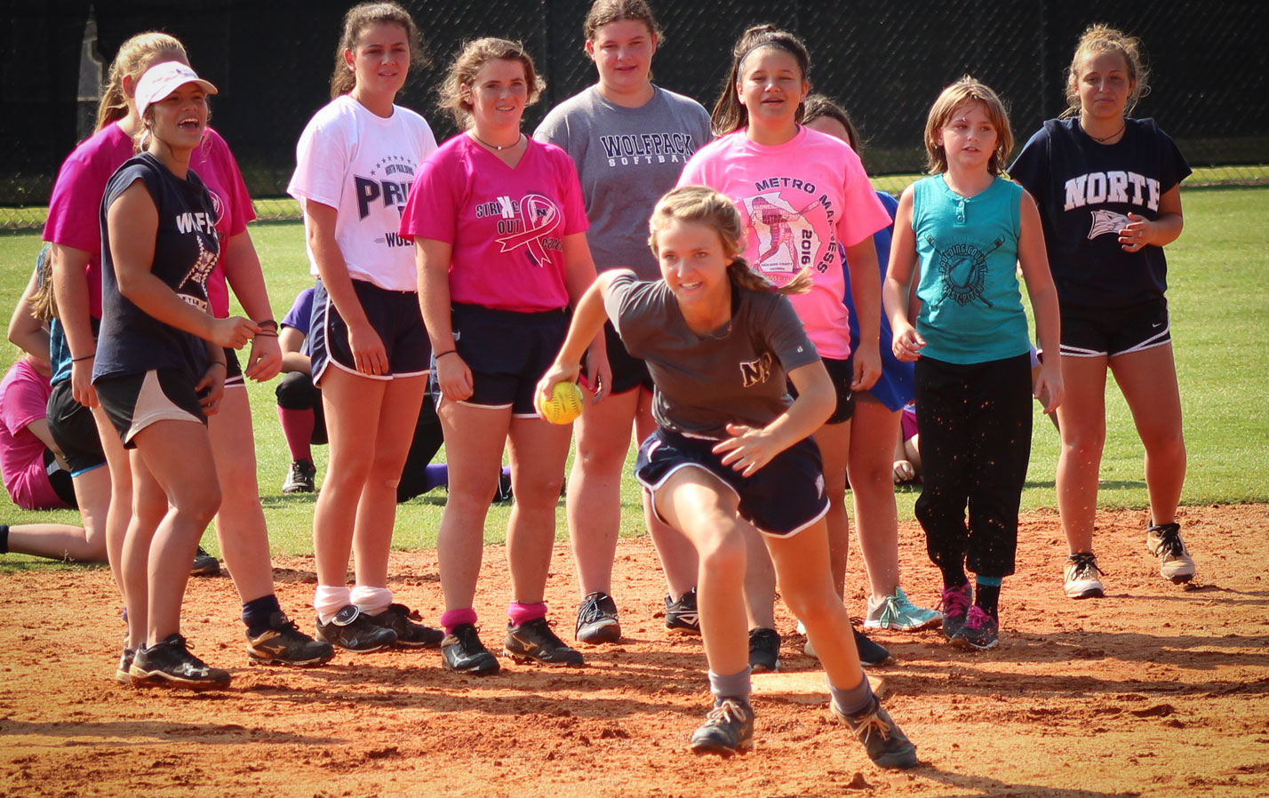 2017 Softball Summer Camp 2017