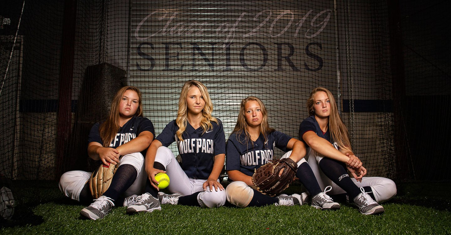 NPHS Senior softball players, 2019.